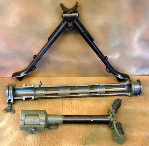 German MG 15 Air Cooled Three Piece Set: WWII