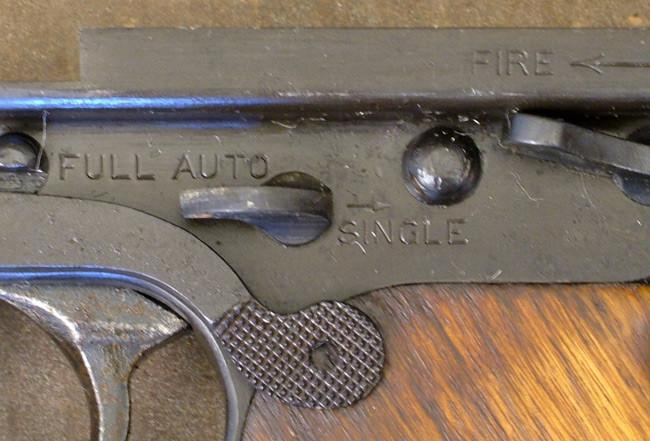 Thompson M1928A1 SMG Lower Frame Assembly