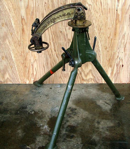 British Vickers MMG Tripod & Crosshead Mount: Late Model