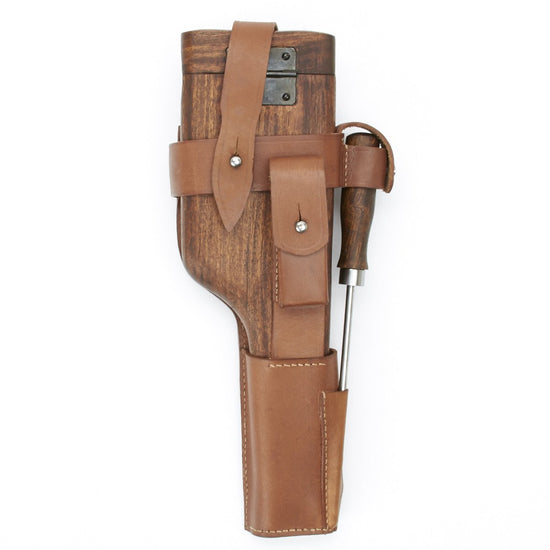 German WWI C96 Wood Buttstock Holster Set