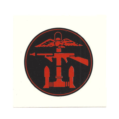 British WWII Unit Helmet Decal: Army Commando