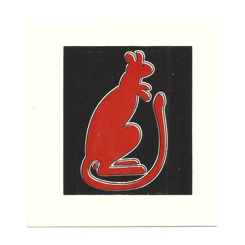 British WWII Unit Helmet Decal: 7th Armoured Division