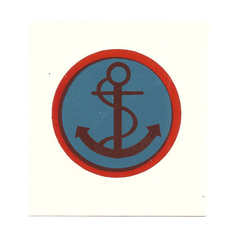 British WWII Unit Helmet Decal: Beach Groupings