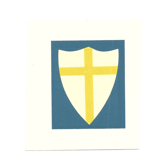 British WWII Unit Helmet Decal: British Eighth Army New Made Items