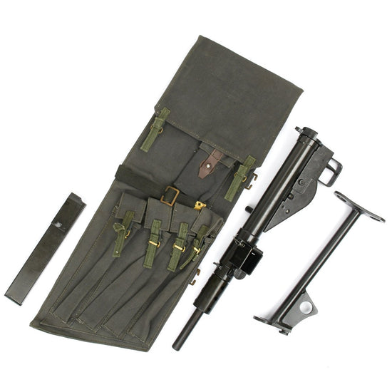 British Sten Gun Paratrooper Bag (fits other SMGs like MP 40)