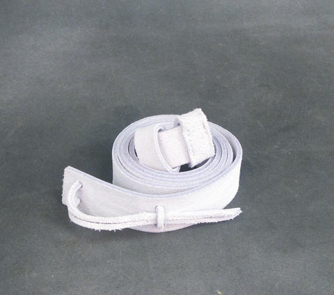 British Victorian White Buff Leather Sling for Martini-Henry, Lee-Metford and Enfield Rifles