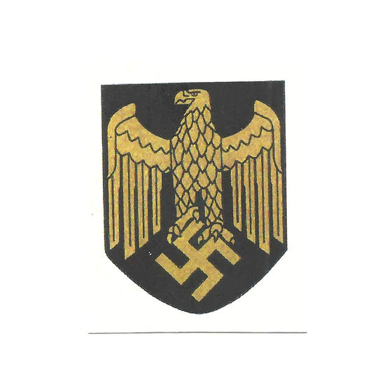 German WWII Steel Helmet Decal- Kriegsmarine