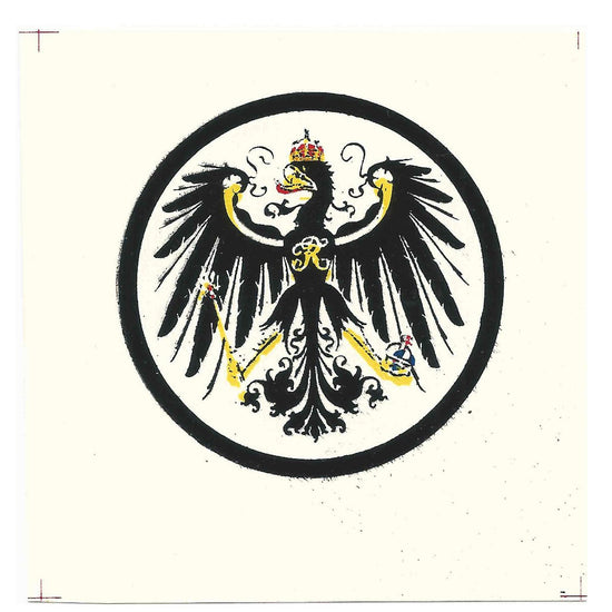 German WWI Decal: Kingdom of Prussia Coat of Arms New Made Items