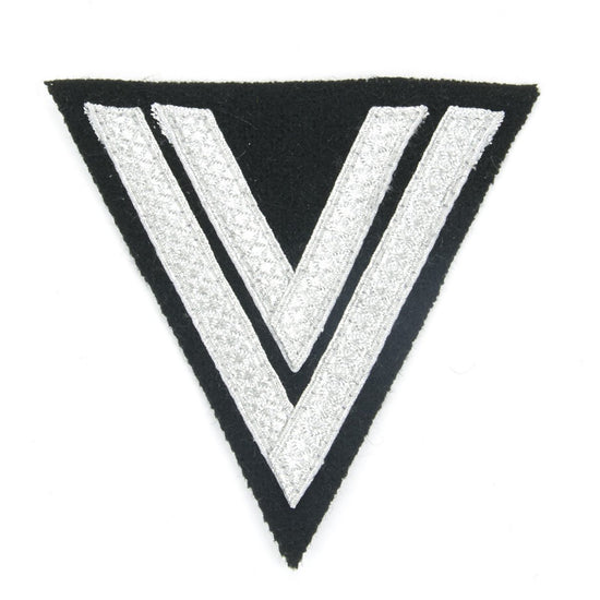 German WWII Cloth Embroidered Badge Corporal Chevron New Made Items