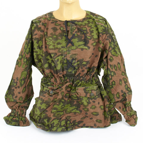 German WWII Waffen-SS Type 2 Oak Pattern A Camouflage Reversible Smock