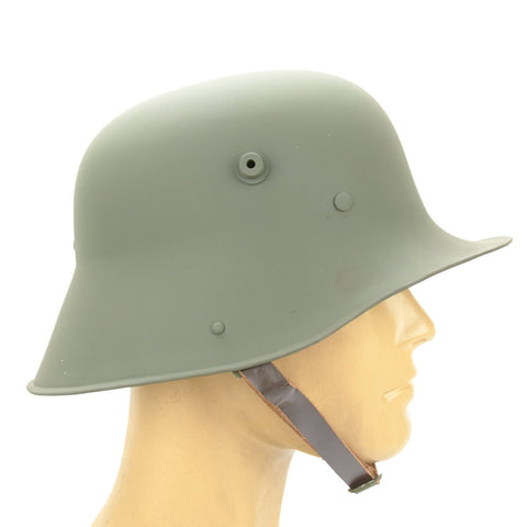 German M1916 1st Model Steel Helmet- WWI Type Production New Made Items