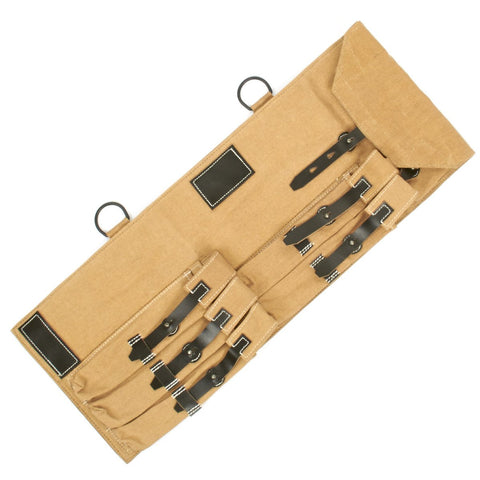 German WWII MP 40 SMG Canvas Carry Case- Afrikakorps DAK