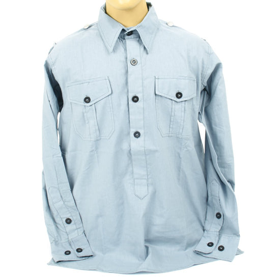 German WWII Luftwaffe Light Blue Service Shirt New Made Items