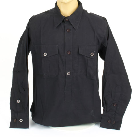 German WWII Panzer Black Service Shirt New Made Items