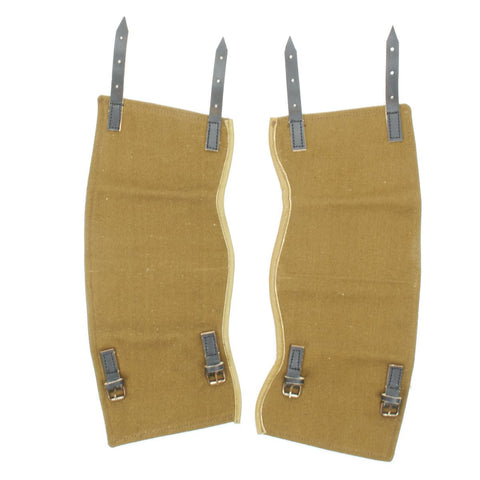 German Wehrmacht Field Green Canvas Gaiters