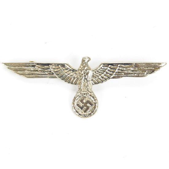 German WWII Army Heer Silver Eagle Metal Badge New Made Items
