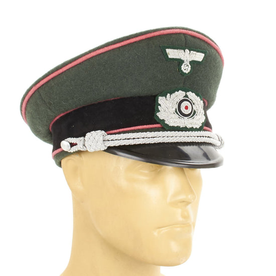 German WWII Army Wehrmacht Panzer Visor Cap New Made Items