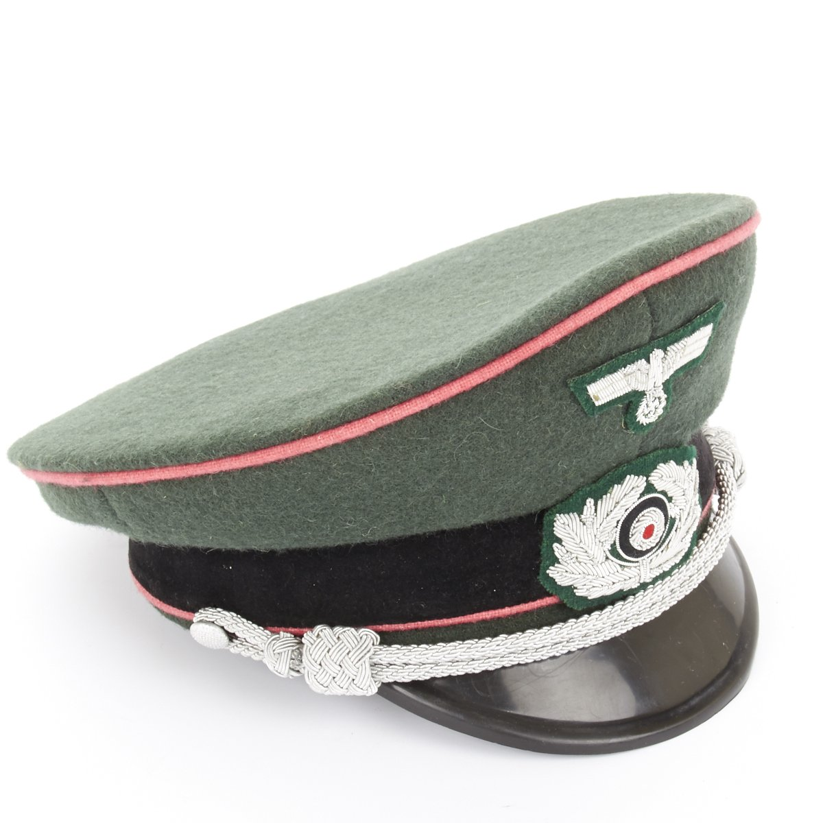 3cac5346d58 German WWII Army Wehrmacht Panzer Visor Cap – International Military ...