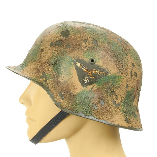 German WWII Reproduction M35 Luftwaffe Afrikakorps Italian FLAK 88 Helmet New Made Items