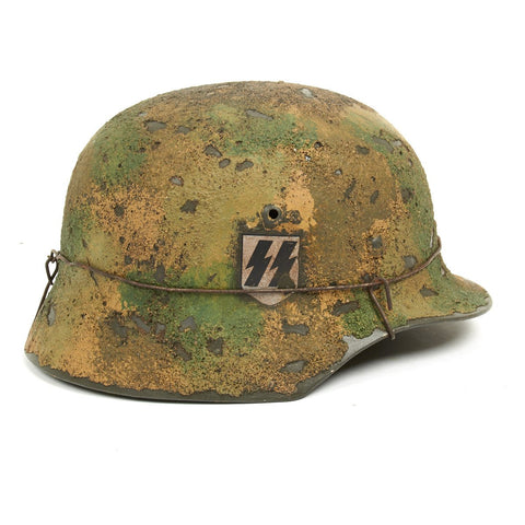 German WWII Reproduction M35 II SS Pz.Kp Kursk Helmet