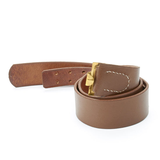 German WWI Brown Leather Belt