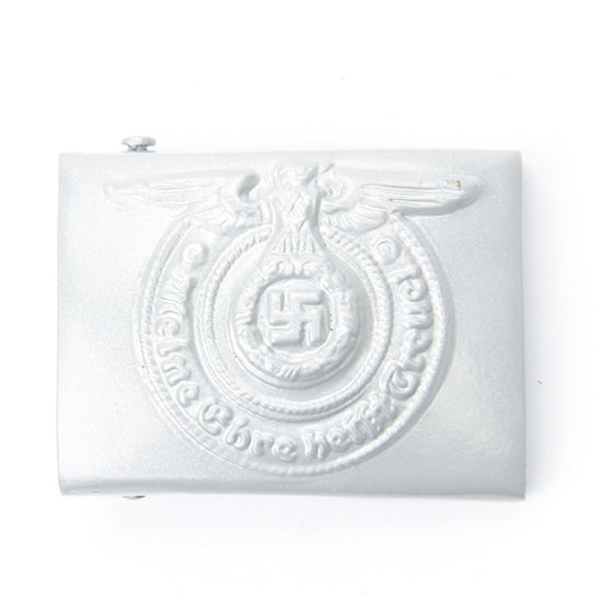 German WWII Steel SS Belt Buckle