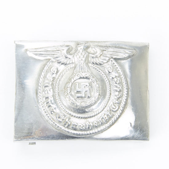 German WWII Aluminum SS Belt Buckle