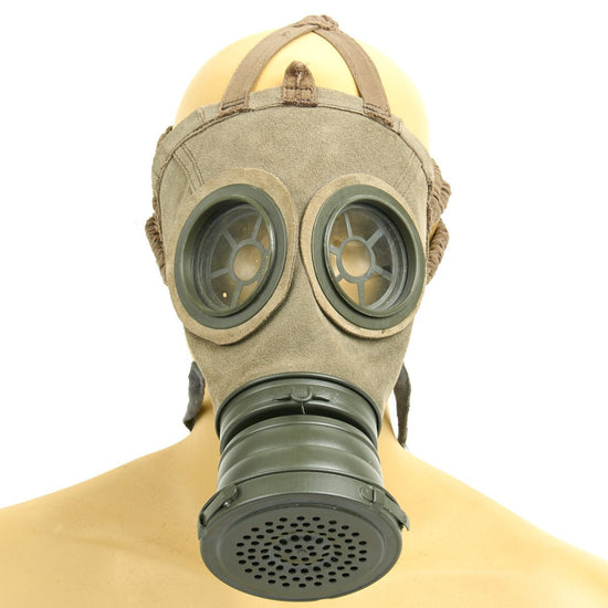 Imperial German WWI Leather Gas Mask