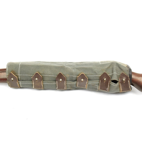 German WWII Mauser 98K Rifle Canvas Action Cover- K98k