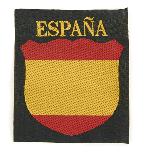 German WWII Army Spanish Volunteer Cloth Patch