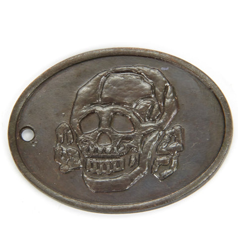 German WWII SS Copper Identification Tag New Made Items
