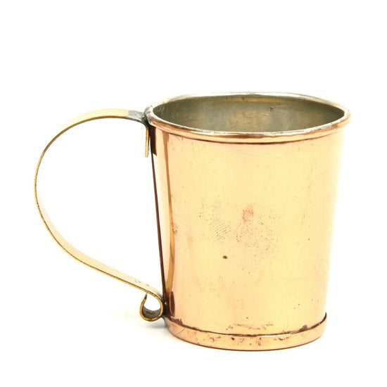 American Revolutionary War Vintage Copper Rum Cup