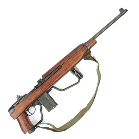 U.S. WWII M1A1 Carbine Folding Stock Paratrooper Display Gun International Military Antiques
