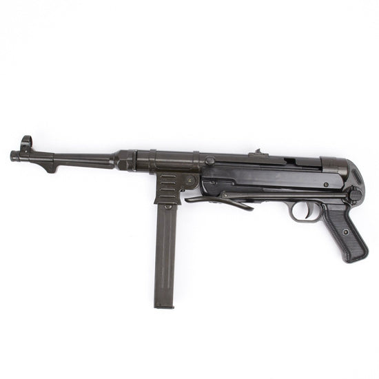 German MP 40 New Made Display Gun- Metal and Plastic International Military Antiques