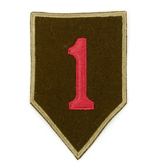 U.S. WWI 1st Infantry Division Shoulder Patch - The Big Red One