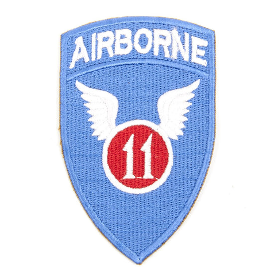 U.S. WWII 11th Airborne Division Shoulder Patch - Angels