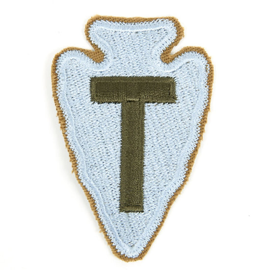 U.S. WWII 36th Infantry Division Shoulder Patch - Arrowhead New Made Items