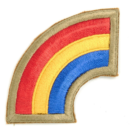 U.S. 42nd Infantry Division Shoulder Patch - Rainbow New Made Items