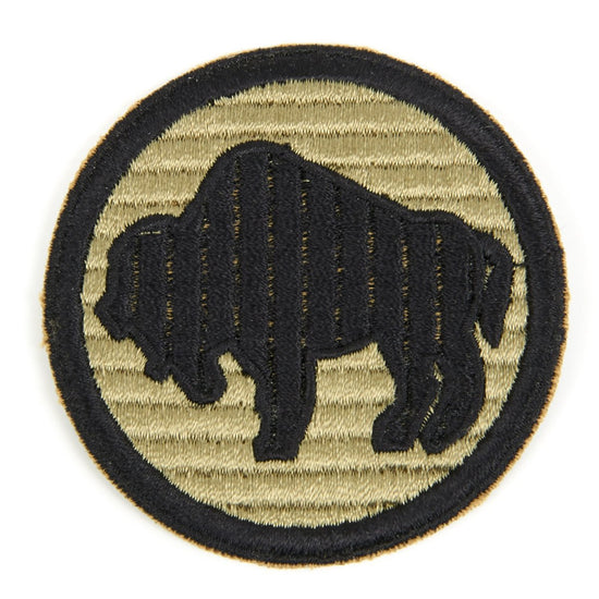 U.S. WWII 92nd Infantry Division Shoulder Patch - Buffalo Soldiers New Made Items