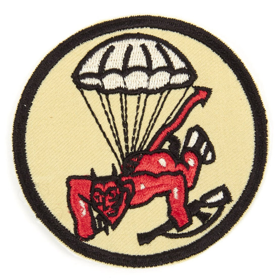 U.S. WWII 508th Parachute Infantry Regiment Shoulder Patch - Red Devils New Made Items