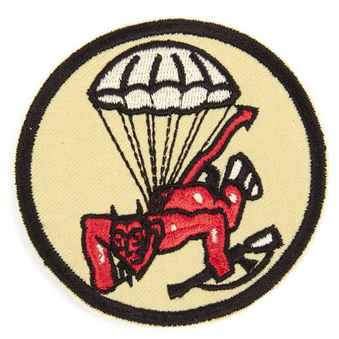 U.S. WWII 508th Parachute Infantry Regiment Shoulder Patch - Red Devils