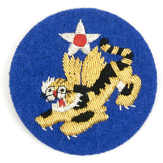U.S. WWII Flying Tigers Shoulder Patch - 1st American Volunteer Group (AVG) New Made Items