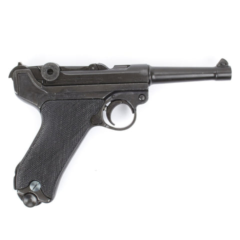 German WWII P-08 Luger New Made Non-Firing Display Pistol