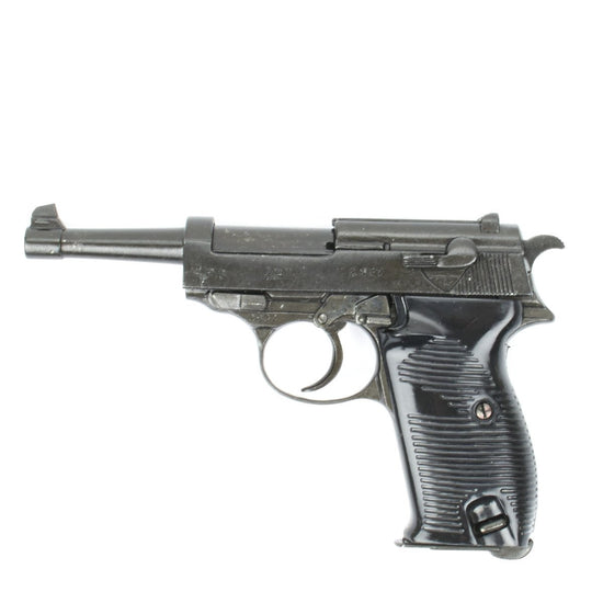 German WWII Walther P38 Pistol- New Made Non-Firing Display International Military Antiques