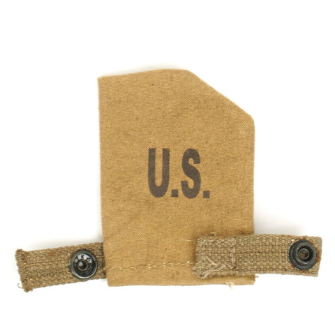 U.S. WWII Rifle Muzzle Cover- Marked U.S.