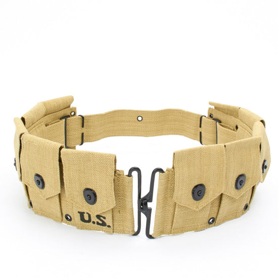 U.S. WWII M1 Garand Rifle Ammunition Cartridge Belt