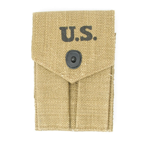 U.S. WWII .45 cal Double Magazine Pouch