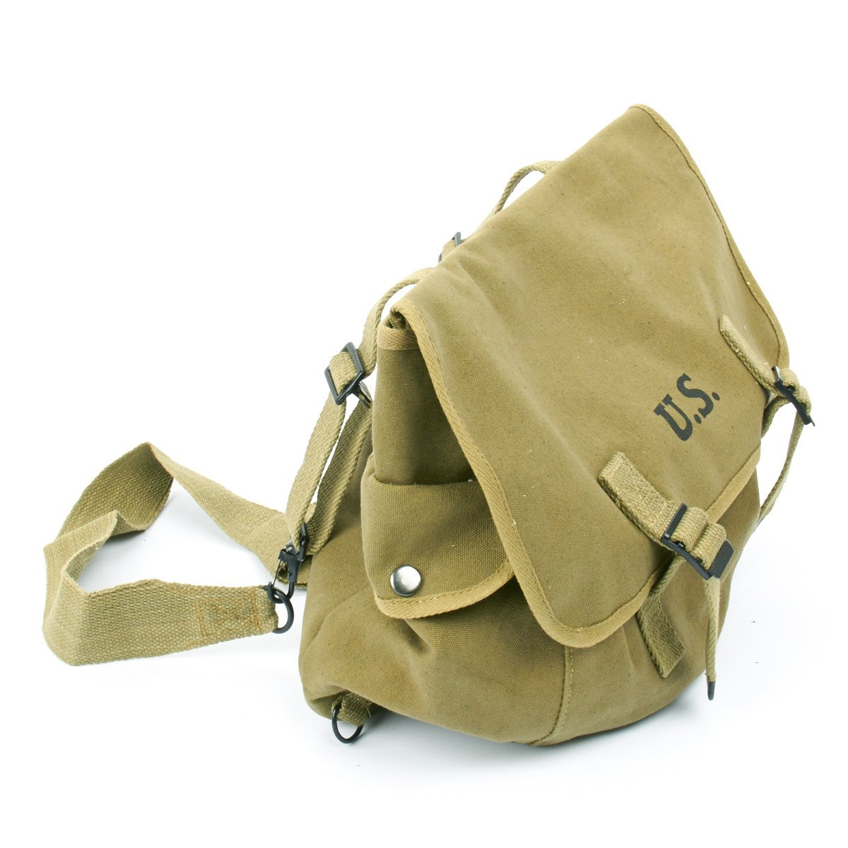 U S  WWII M1936 Musette Bag with Shoulder Strap