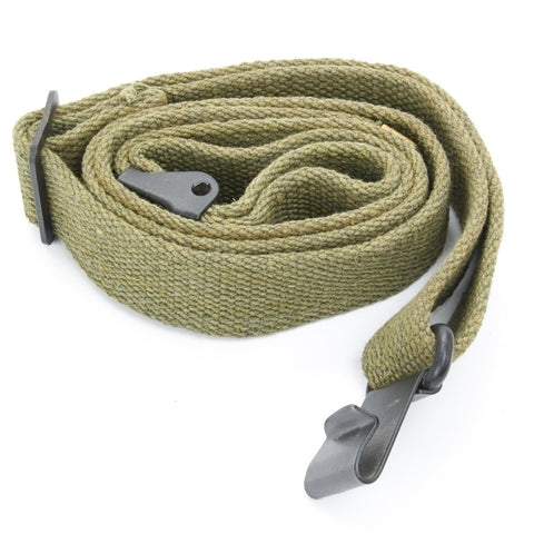 U.S. WWII M1 Garand Rifle Canvas Web Sling- Green New Made Items