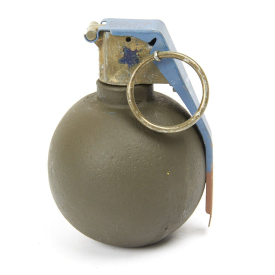U.S. Cast Iron Dummy Baseball Grenade